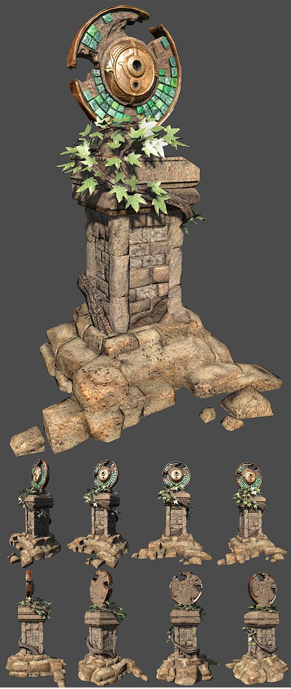 3DOcean Fantasy Altar 6032779