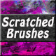 Scratched Brushes - GraphicRiver Item for Sale