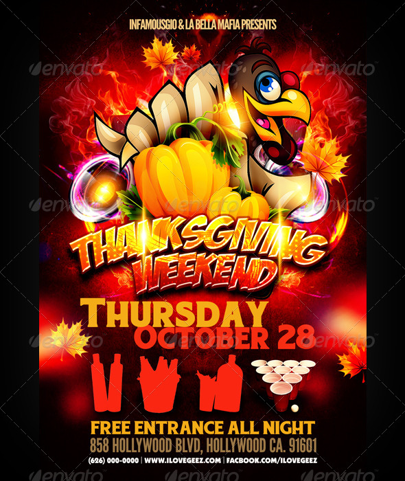 GraphicRiver Thanksgiving Weekend 5959373