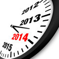 2014 New Year clock - PhotoDune Item for Sale