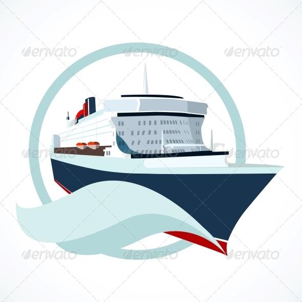 GraphicRiver Cruise Ship 6033698