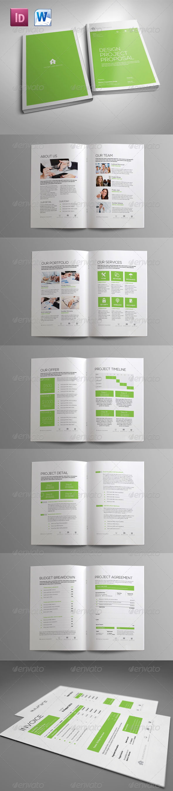 GraphicRiver Sleman Clean Proposal Template Volume 5 6033882