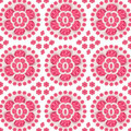 Ceramic Pink Floral Pattern - PhotoDune Item for Sale