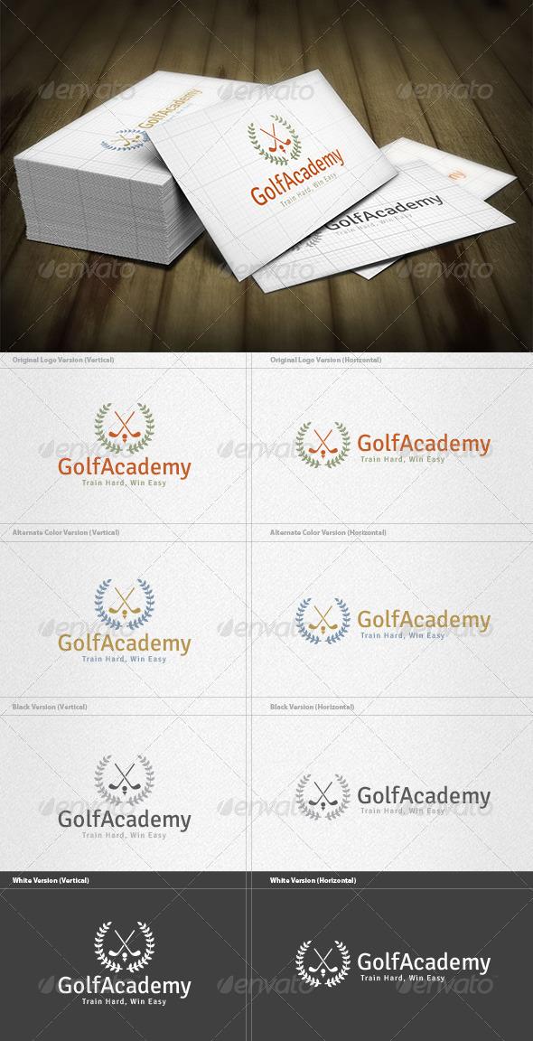 GraphicRiver Golf Academy Logo 6034506