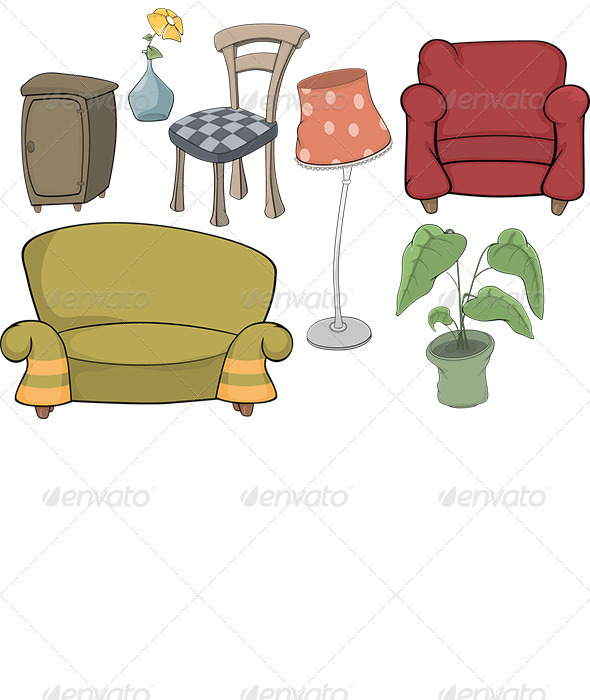 GraphicRiver The Furniture Complete Set 6034933