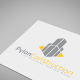 Pylon Construction Logo Template - GraphicRiver Item for Sale