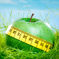 apple and measuring tape - PhotoDune Item for Sale