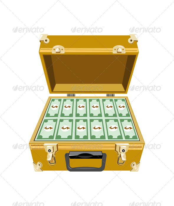 GraphicRiver Money in Briefcase 6035606