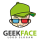 Geek Face Logo - 14 - GraphicRiver Item for Sale