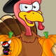 Turkey Mascot - Holding Pumpkins - GraphicRiver Item for Sale
