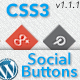 CSS3 Animated Social Buttons Wordpress Widget - CodeCanyon Item for Sale