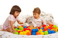 Children playing with colorful balls - PhotoDune Item for Sale