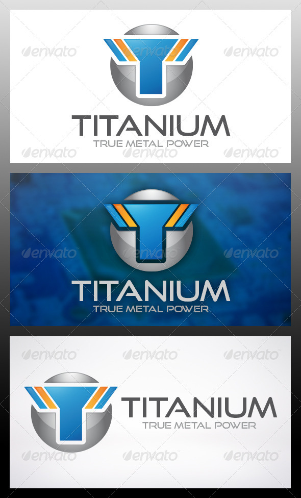 GraphicRiver Titan Logo Template 6036525