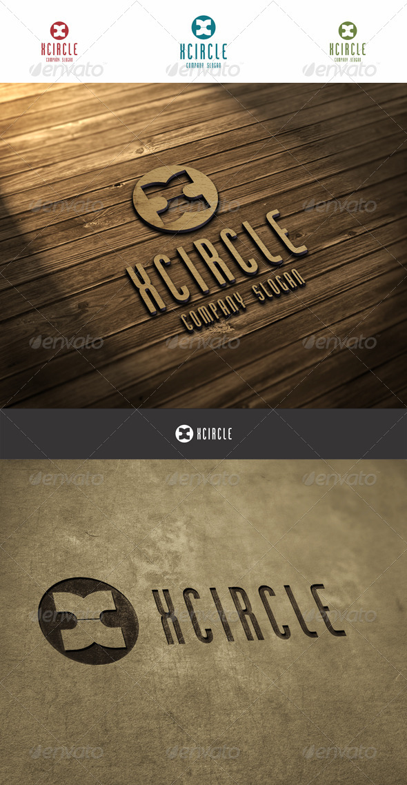 GraphicRiver X Circle Logo 6037420