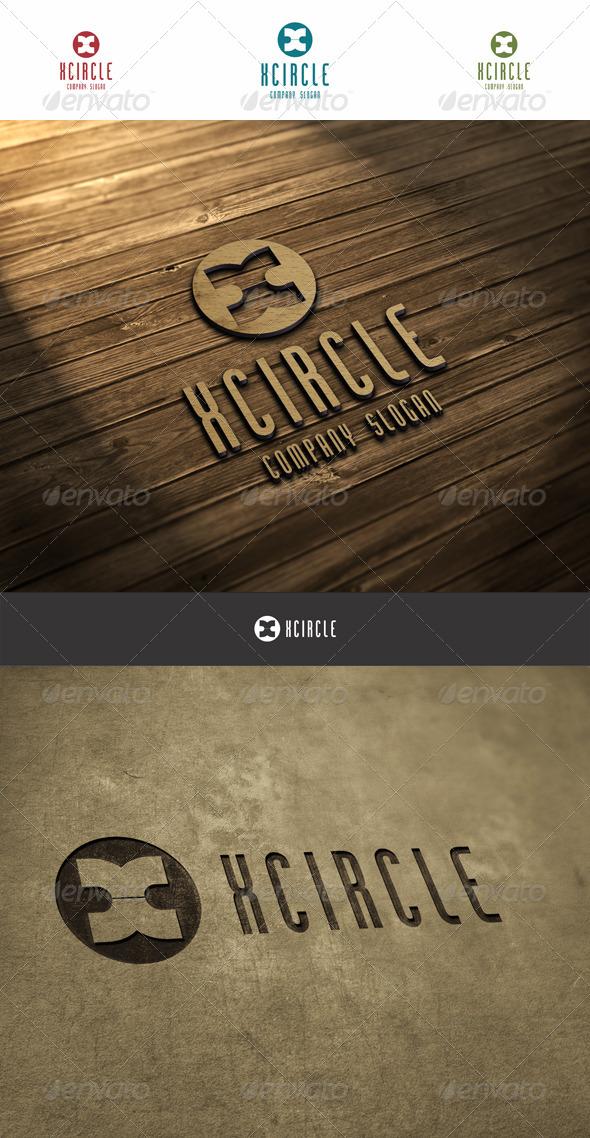 GraphicRiver X Circle Logo 6037420