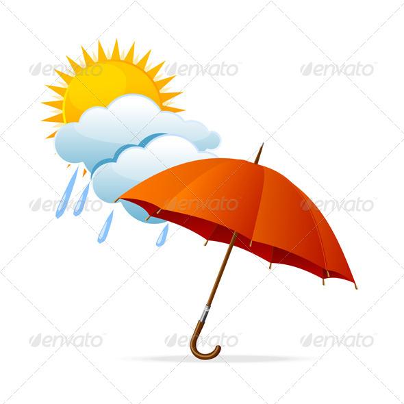 GraphicRiver Vector Rainy Weather Icon 6037840
