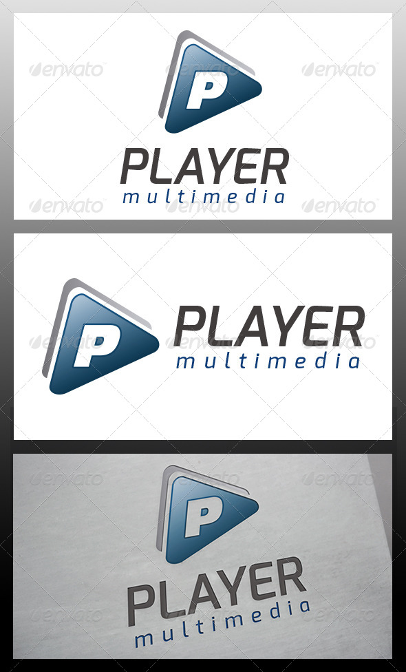 GraphicRiver Player Logo Template 6038345