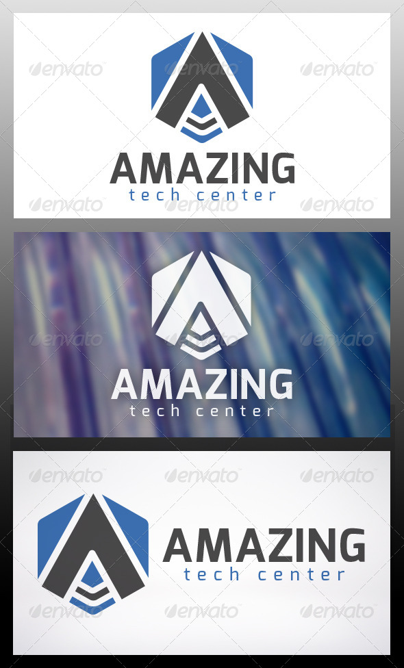 GraphicRiver Amazing Logo Template 6038799