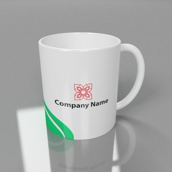 3DOcean 3D Mug Ready for Advertising 6009445