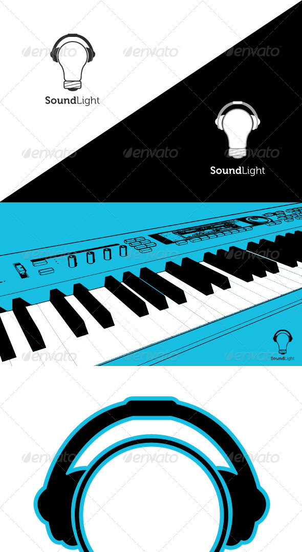 Sound / Light / Music Logo Template - Objects Logo Templates