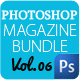 Magazine Template Bundle Vol.6 - GraphicRiver Item for Sale