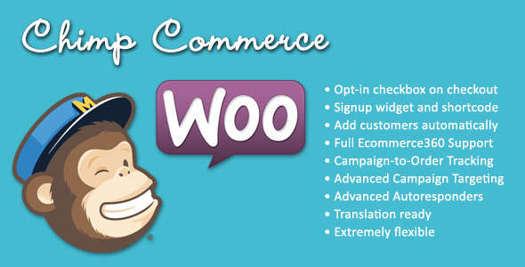 CodeCanyon MailChimp WooCommerce Integration ChimpCommerce 6044286