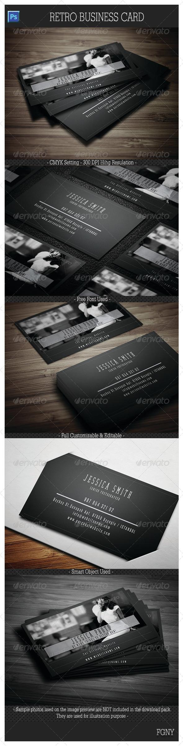 GraphicRiver Retro Business Card 6044363