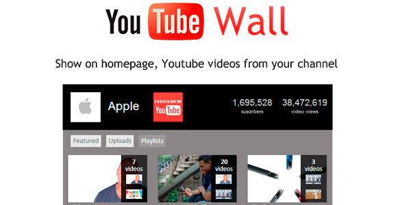 CodeCanyon YoutubeWall Prestashop module 6044603