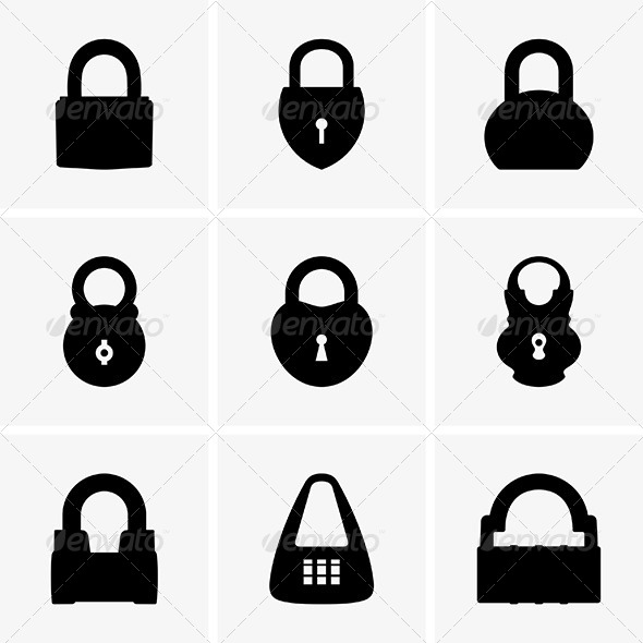 GraphicRiver Padlocks 6044836