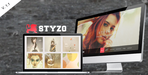 STYZO - Responsive Single Page Template - Portfolio Creative