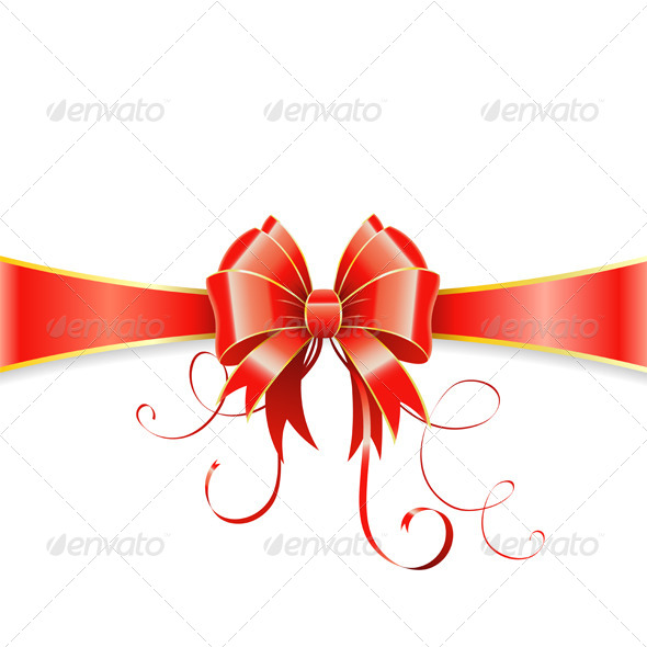 GraphicRiver Bow and Ribbon 6045491