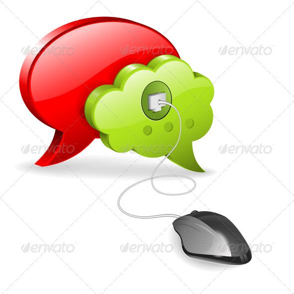 GraphicRiver Social Media Concept 6045514