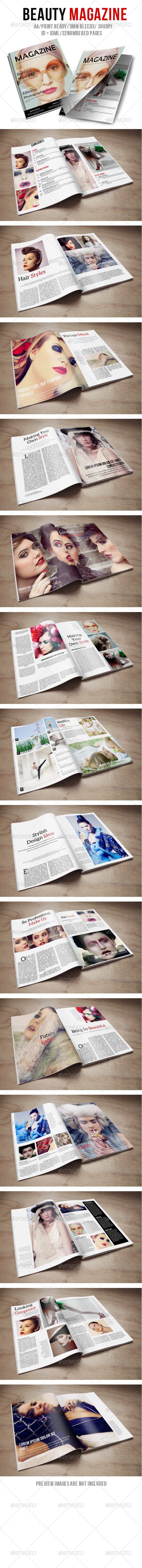 GraphicRiver Beauty Magazine 6046255