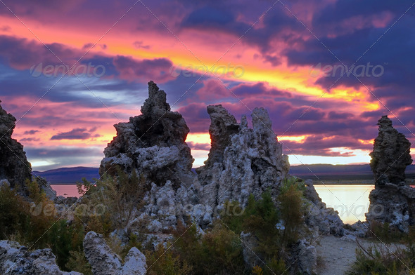 Mono Lake - Stock Photo - Images