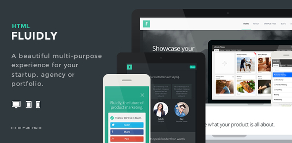 ThemeForest Fluidly Responsive Multi-Purpose Template 6035742