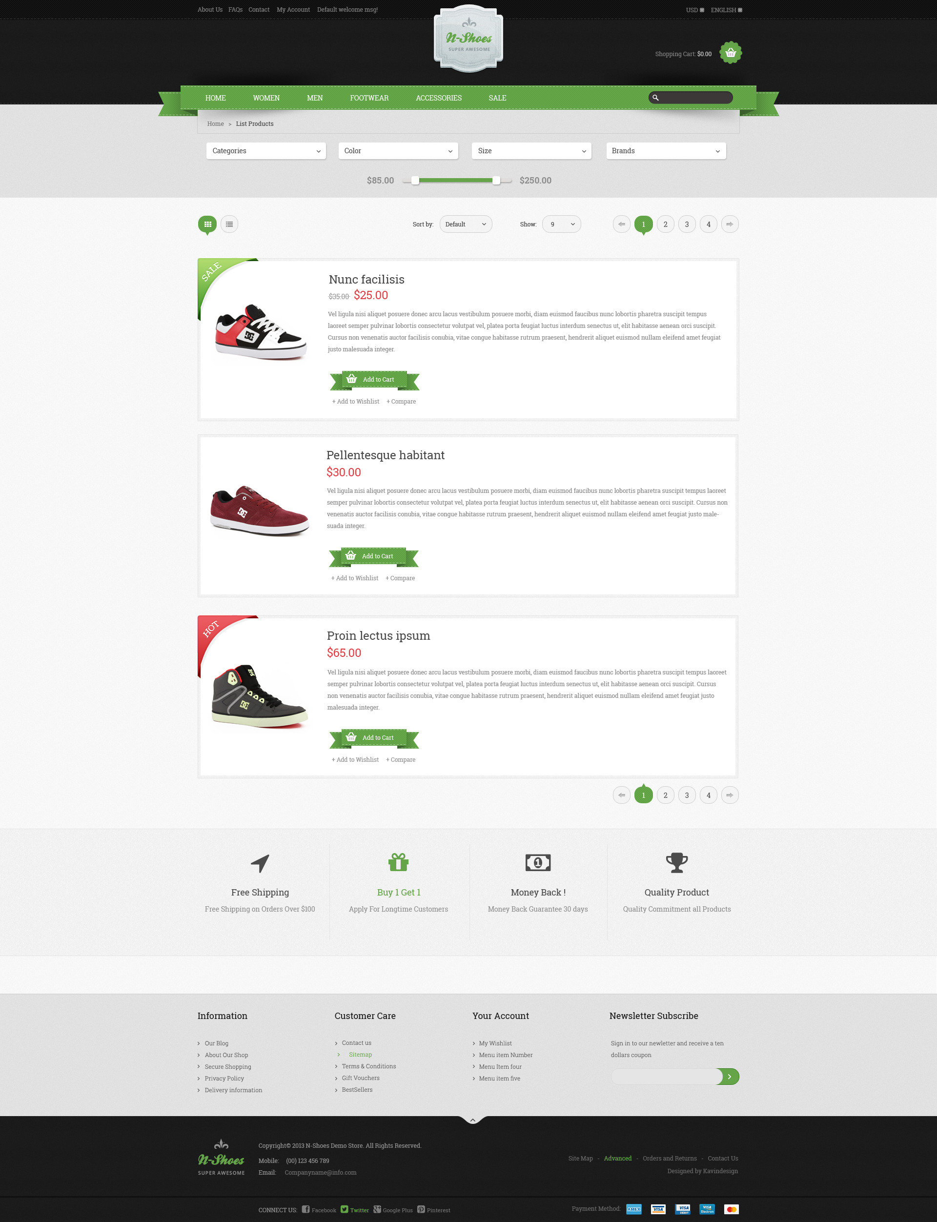 N-Shoes PSD