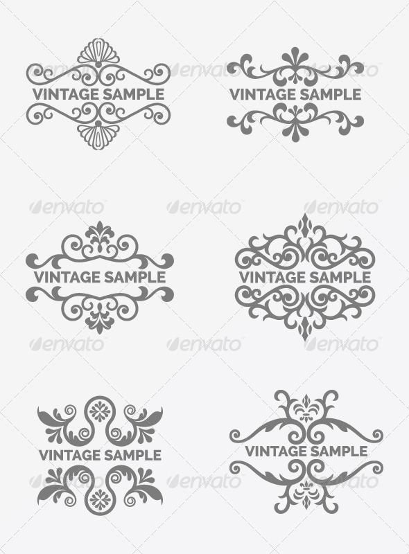 GraphicRiver Vintage Frame 73 6047527