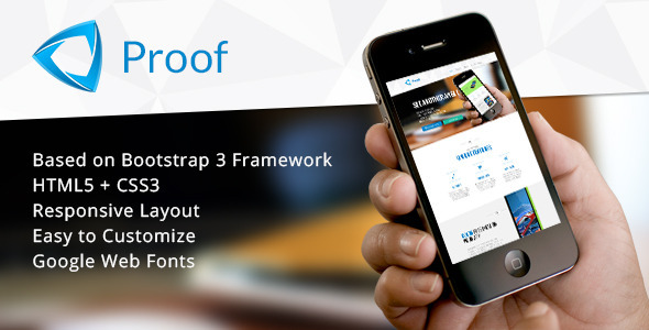 ThemeForest Proof App Responsive Landing Page 6047551