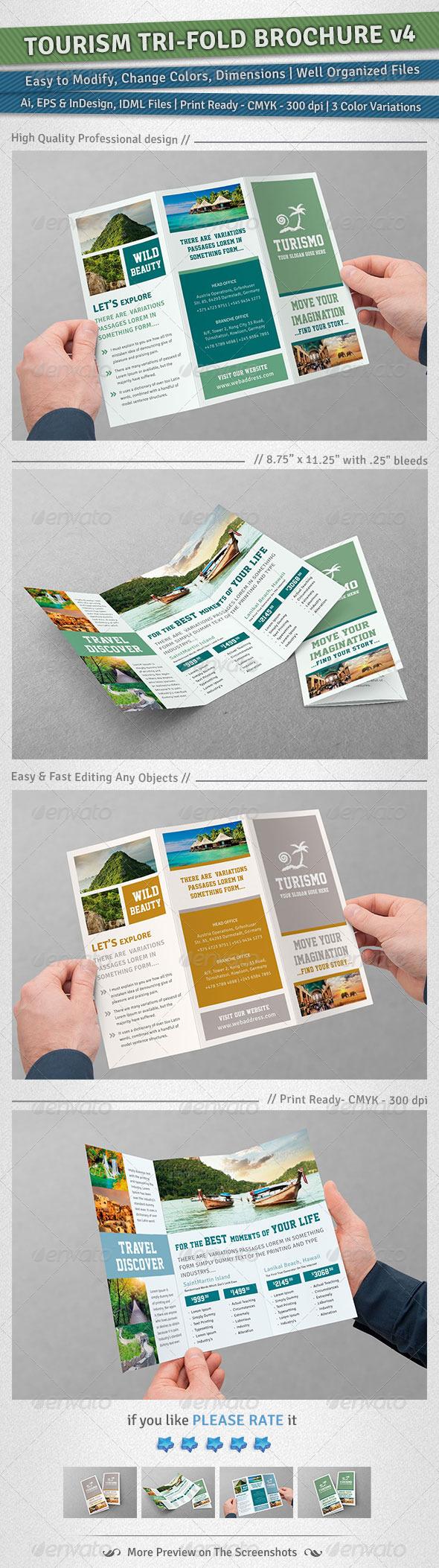 GraphicRiver Tourism Tri-Fold Brochure Volume 4 6048011