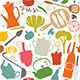 Dinner Seamless Pattern - GraphicRiver Item for Sale