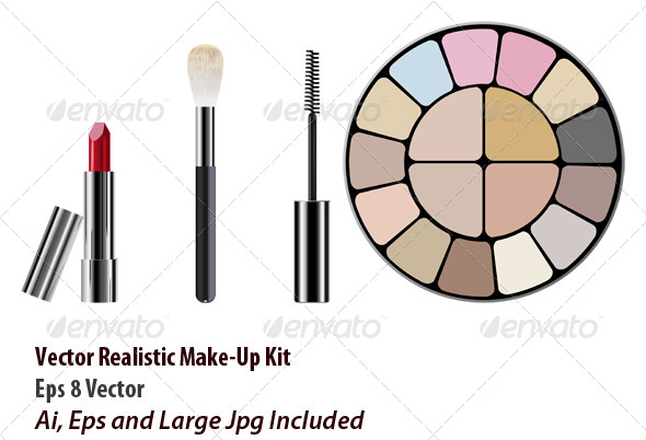 GraphicRiver Make Up Kit 6050967