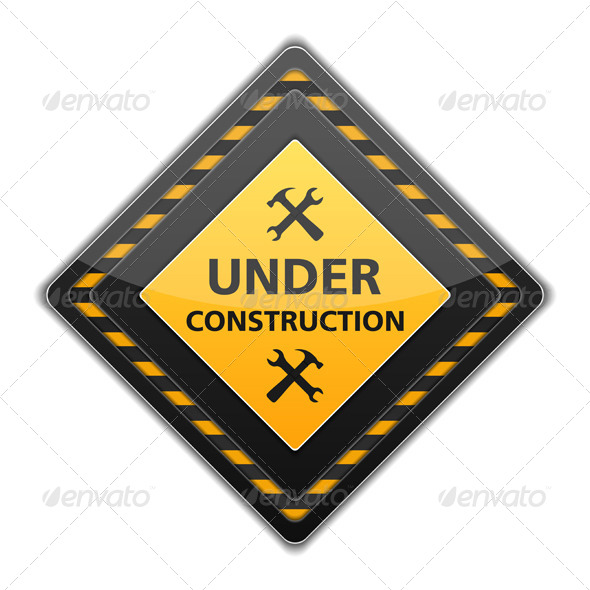 GraphicRiver Under Construction Sign 6051221