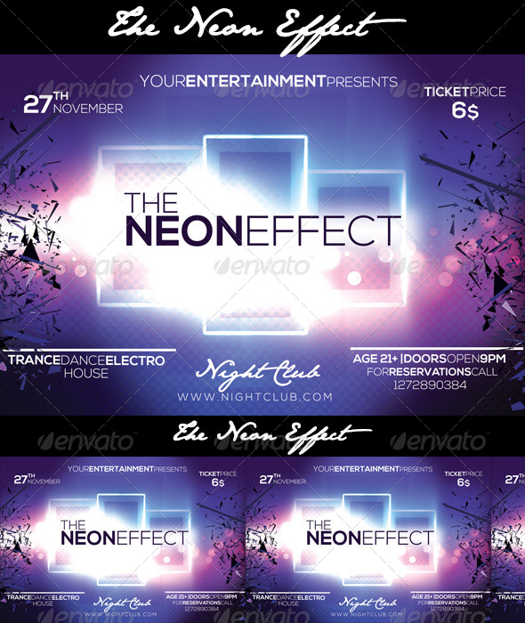 GraphicRiver The Neon Effect 6051728
