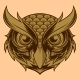 Wise Owl Logo - GraphicRiver Item for Sale