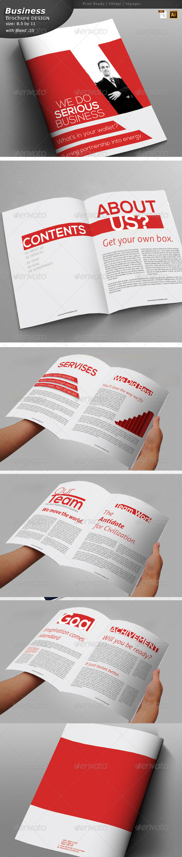 GraphicRiver Business Brochure Design 6052195