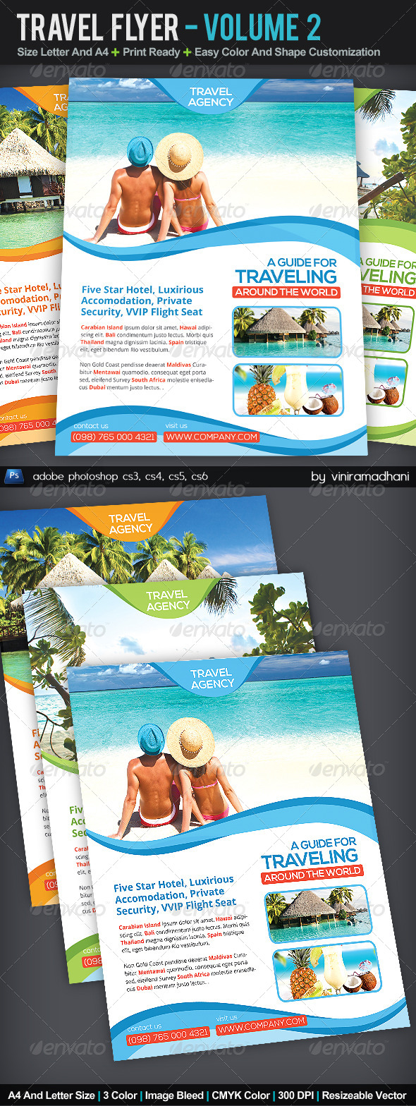 GraphicRiver Travel Flyer Volume 2 6052560