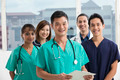 Team of Multi-ethnic medical staff - PhotoDune Item for Sale