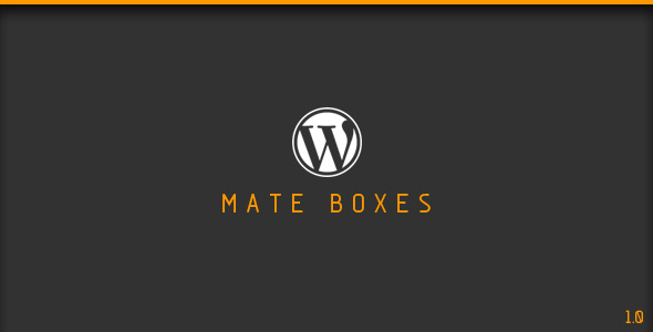CodeCanyon Mate Boxes Wordpress Plugin 6052816