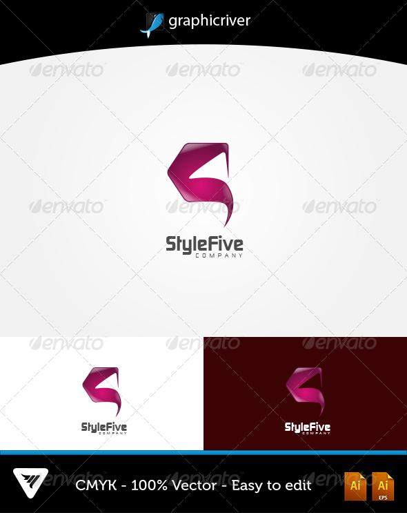GraphicRiver StyleFive Logo 6052952