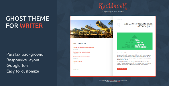 Kuntilanak - Ghost Theme for Writers